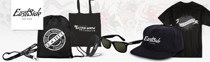 East Side Enschede tattoo merchandise