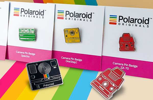 Polaroid pins