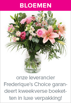 Frederique's choice bloemen